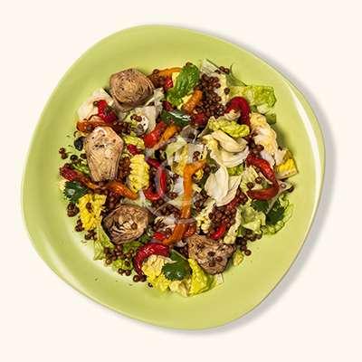 Artichoke & lettuce